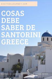 Cosas que debe SABER sobre Santorini